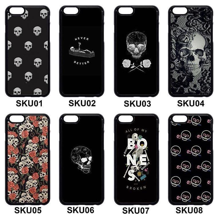 ✖️CASINGS✖️Skull Phone Cases