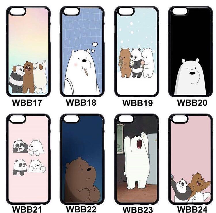 ✖️CASINGS✖️We Bare Bear Phone Cases