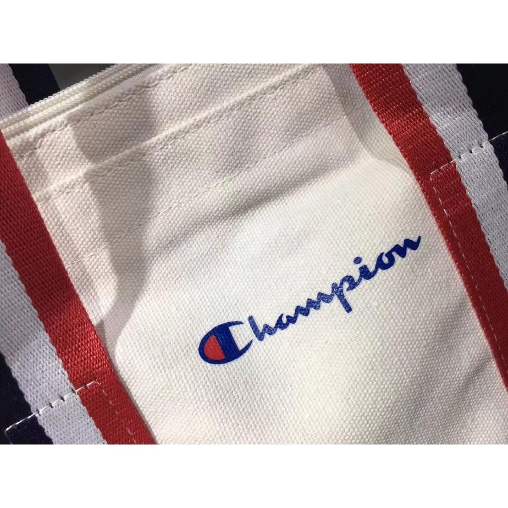 Champion single shoulder bag champion canvas handbag/tote bag