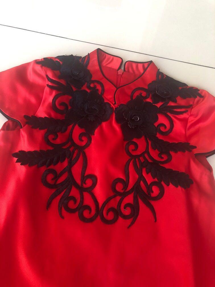 Cheongsam qibao Dress anak