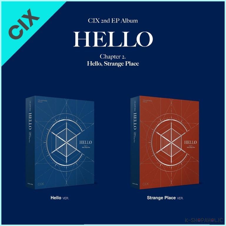 CIX - 2nd Mini Album ' HELLO [CHAPTER 2.: HELLO, STRANGE PLACE] '