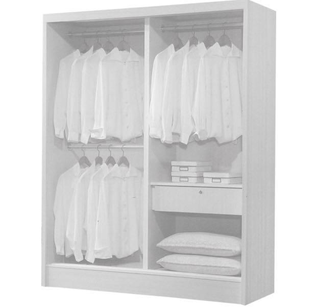 Clearance Wardrobe (5ft sliding door )