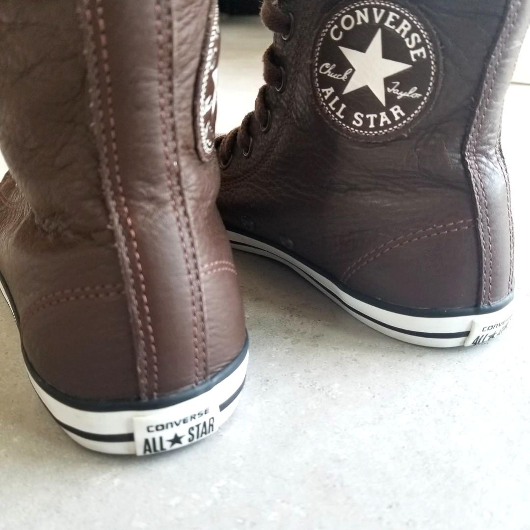 Converse Leather Boots