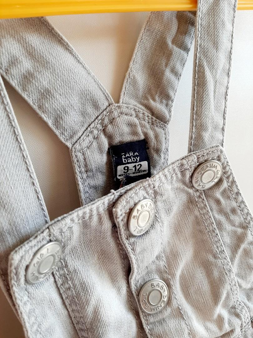 Denim Light Gray Overall size 9m