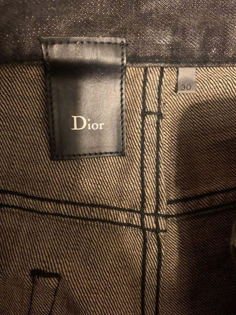Dior homme 07 wax jeans