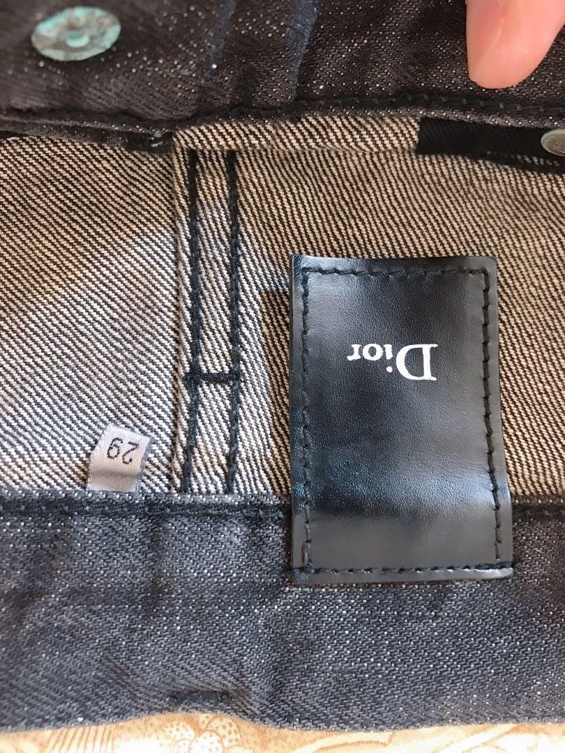 Dior Homme Wax Jeans YSL Celine Browne Chanel Dolce