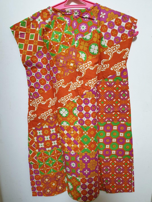 Dress Batik Anak Perempuan