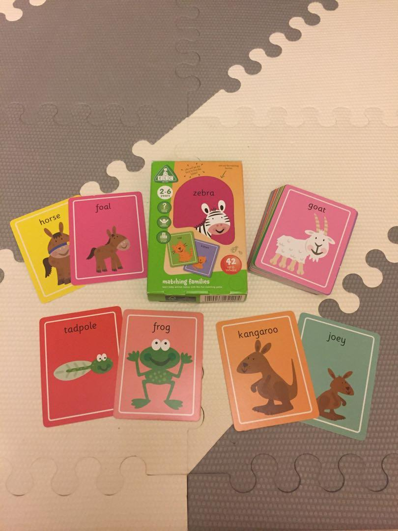 ELC Matching Families Card Game