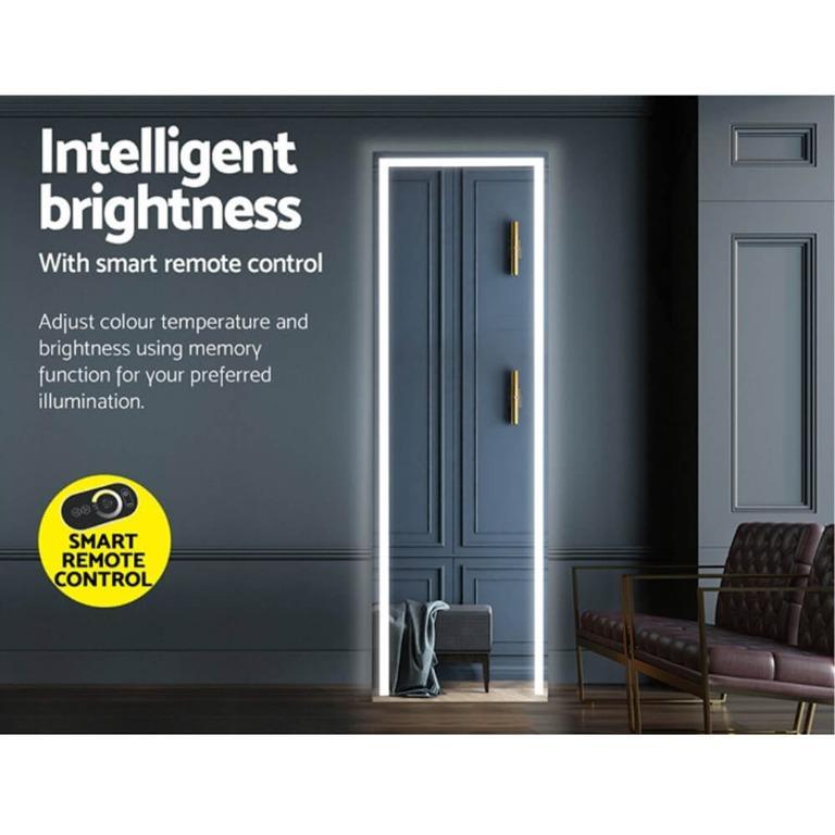 Embellir LED Full Length Mirror 1.5M Standing Floor Makeup Wall Mirror Lights