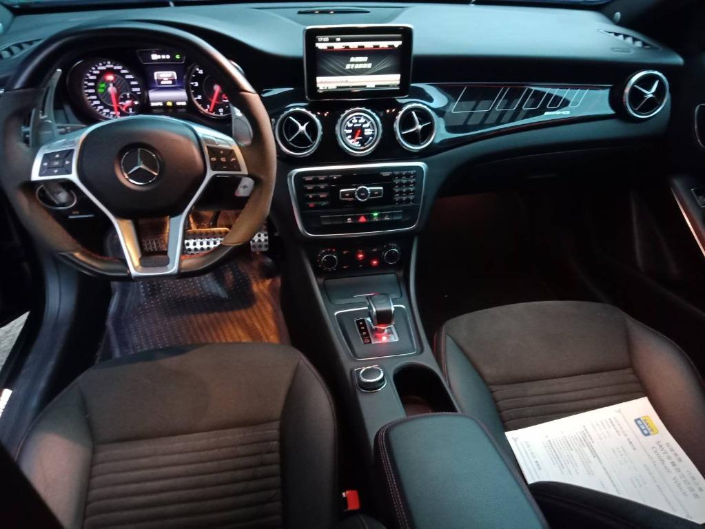 【FB搜尋桃園阿承】賓士 超人氣GLA45跑6萬 2015年 2.0 黑色 二手車 中古車