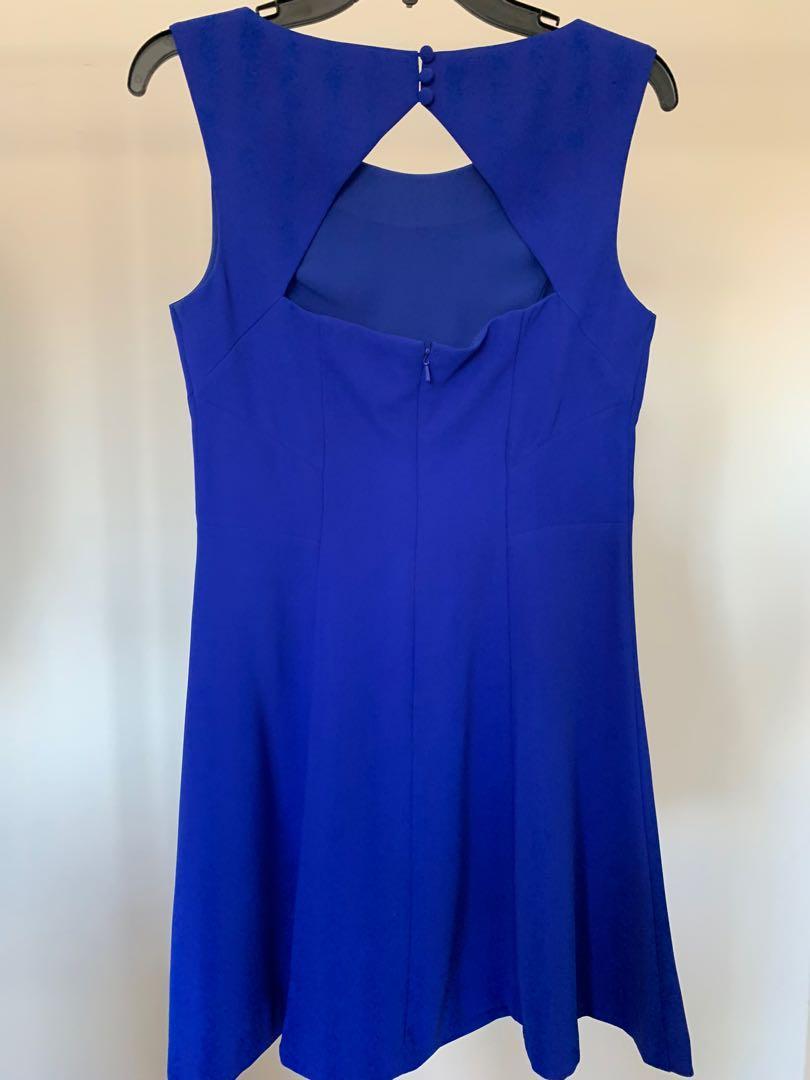 Formal Short Blue dress