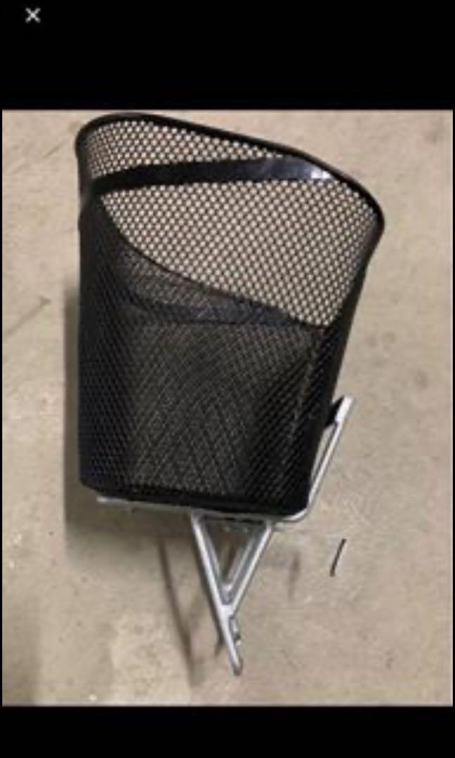 Front Bicycle Rack c/w Basket
