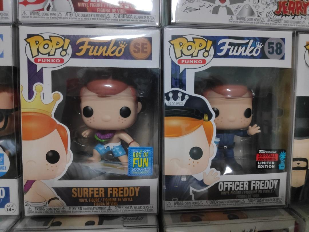 Funko Freddy Police Officer and Surfer