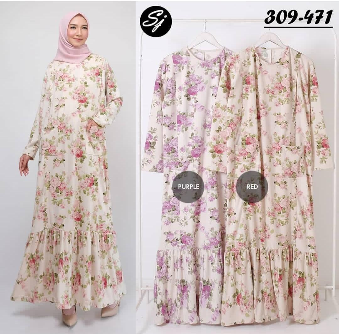 Gamis maxy dress homeydress busui import