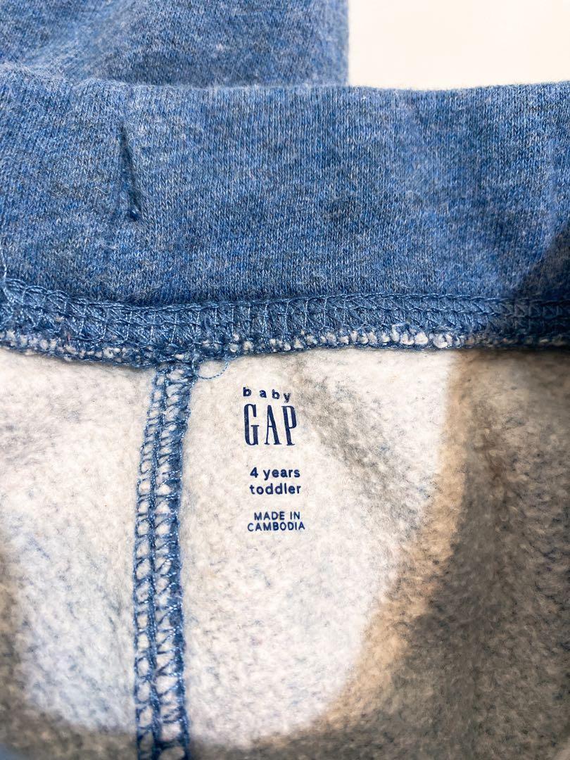Gap 藍色長褲 blue shake 運動褲 小童