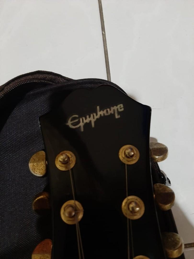 Gitar Epiphone Bigsby siap pakai