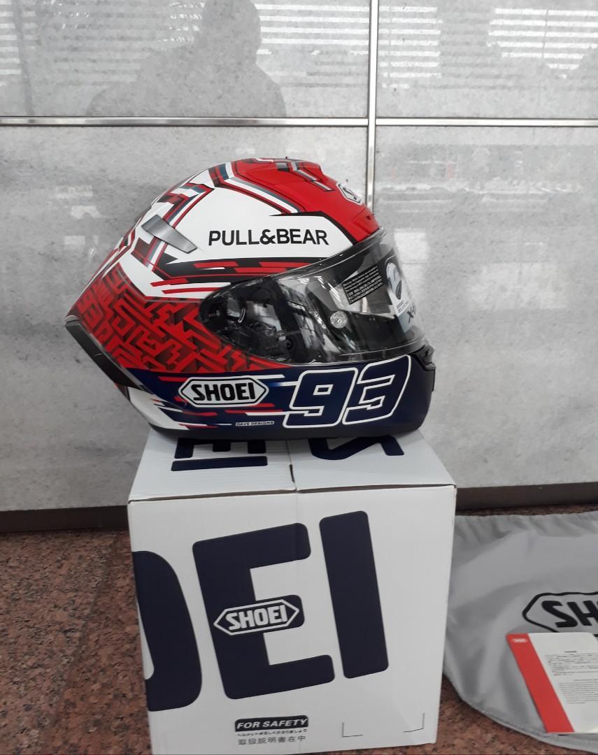 Helm SHOEI X14 marques Pull & Bear Clone Grade A not Agv Tavullia KYT