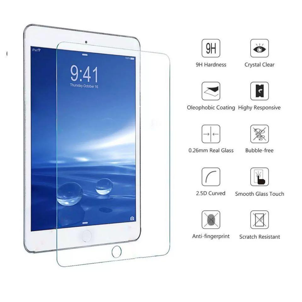 iPad Mini 1/2/3/4/5 Tampered Glass 9H