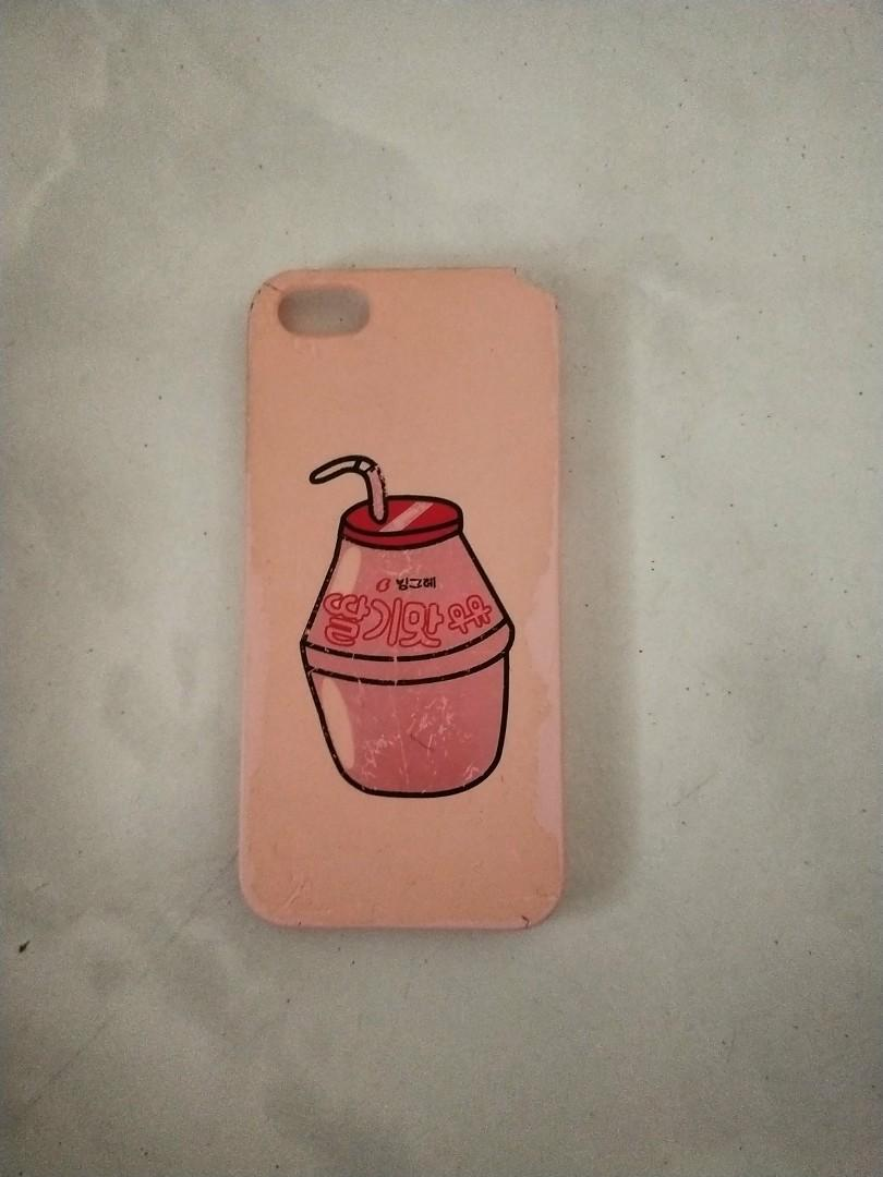 Iphone SE Strawberry Milk Harajuku zphone Case