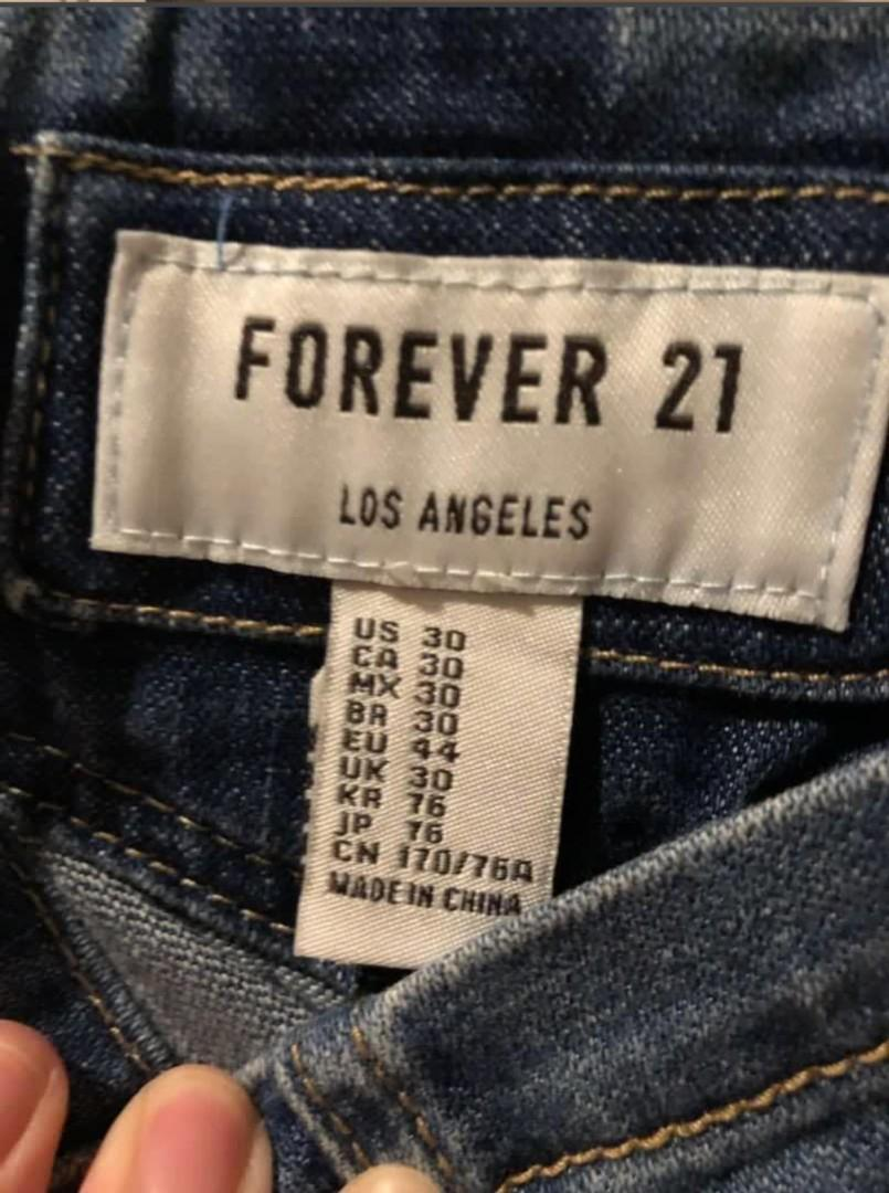 Jumpsuit Celana Kodok Overall Forever 21