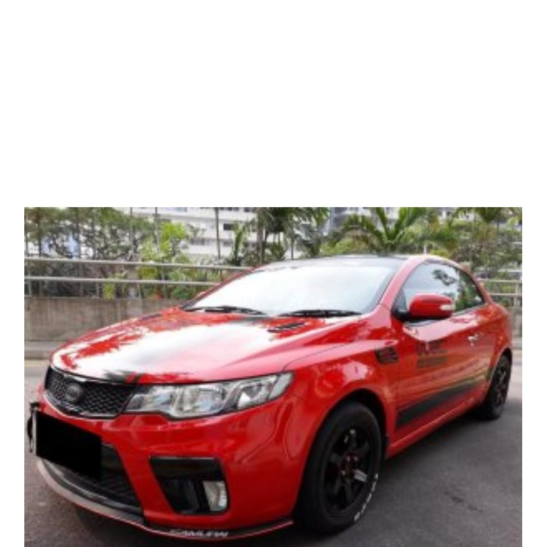 Kia Cerato Koup 1.6 T-GDi Auto