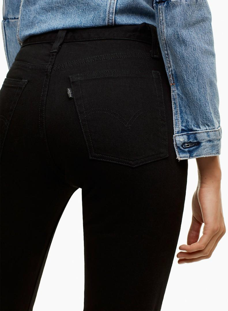 *PRICE DROP* Levi's Wedgie Ultra Black - size 26 - Exclusive to Aritzia