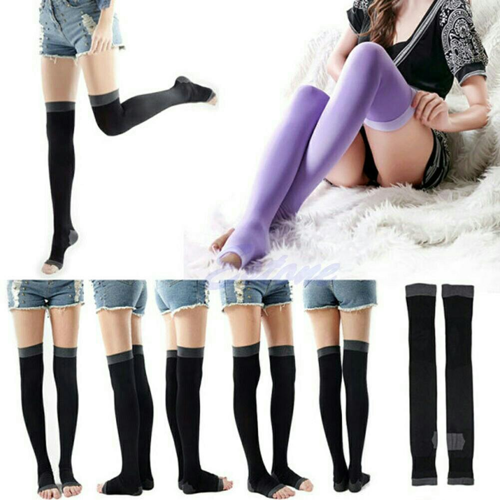 Magic 3D Overnight Fast Slimming Fast Fat Burning Thin Leg Veins Sleeping Elastic High Sock