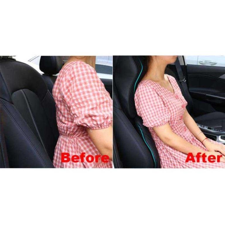 MALUOKASA Bantal Leher Kursi Mobil Ergonomis 3D Memory Foam Pillow M3D TItanGadget