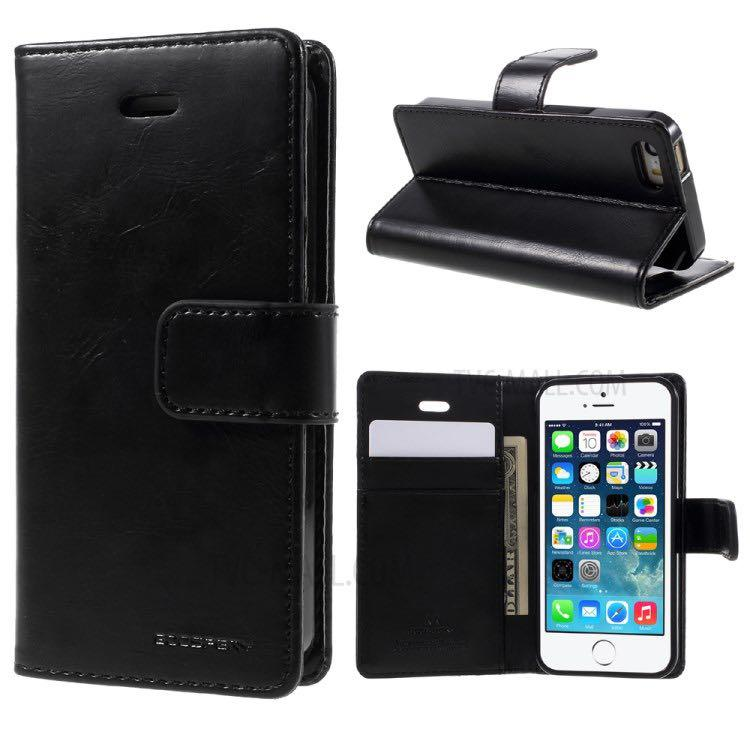 Mercury Goosbery Case (Black- iPhone 5/ 5S/ SE)