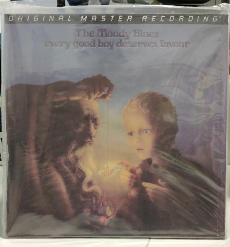 MFSL - The Moody Blues, every good boy deserves favour (low numbered-0107) audiophile vinyl lp