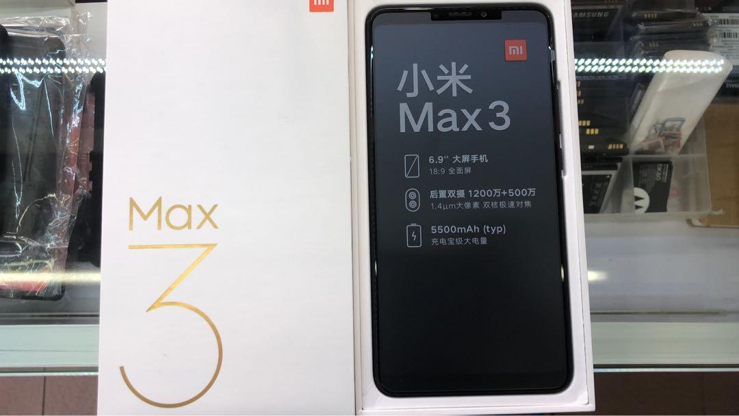 Mi Max 3 64gb black