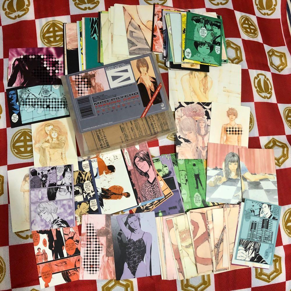 Multiple Personality Detective Psycho Trading Cards