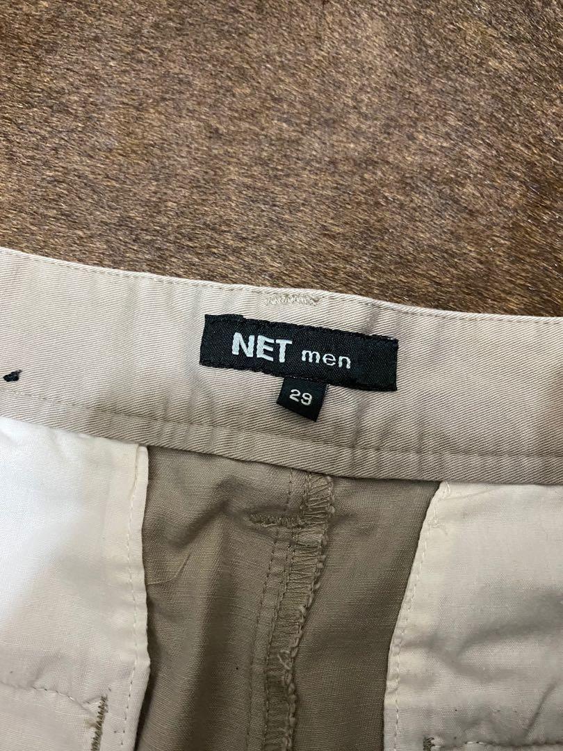 Net 卡其短褲