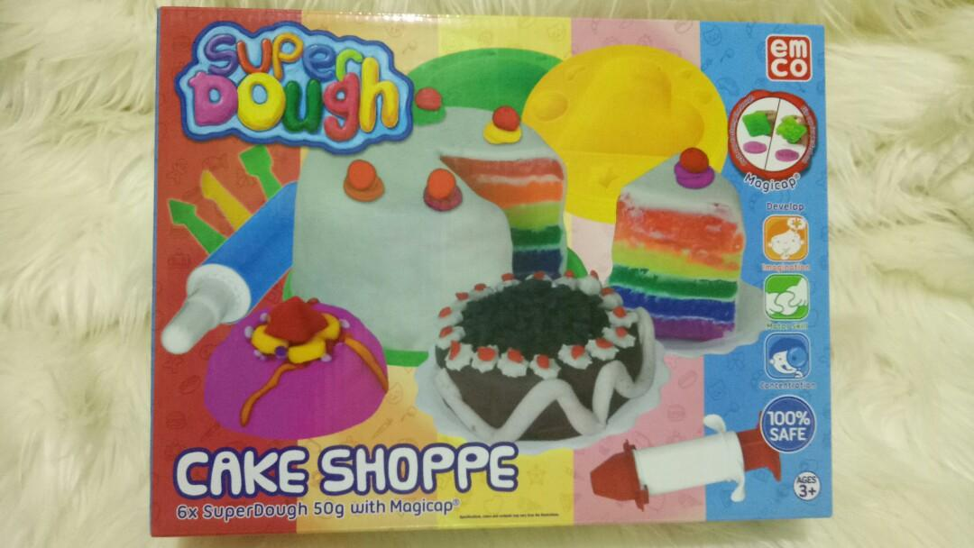 New EMCO Cake Shoppe Super Dough