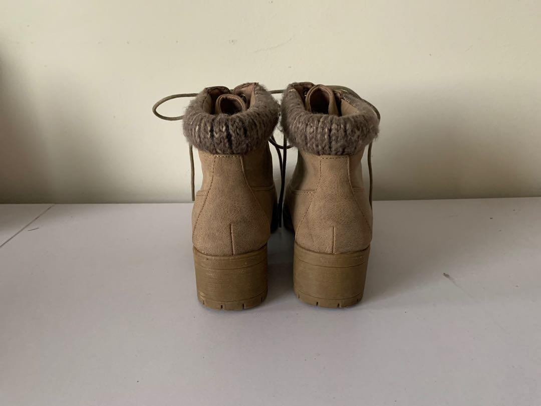 Novo Lace Up Ankle Boots