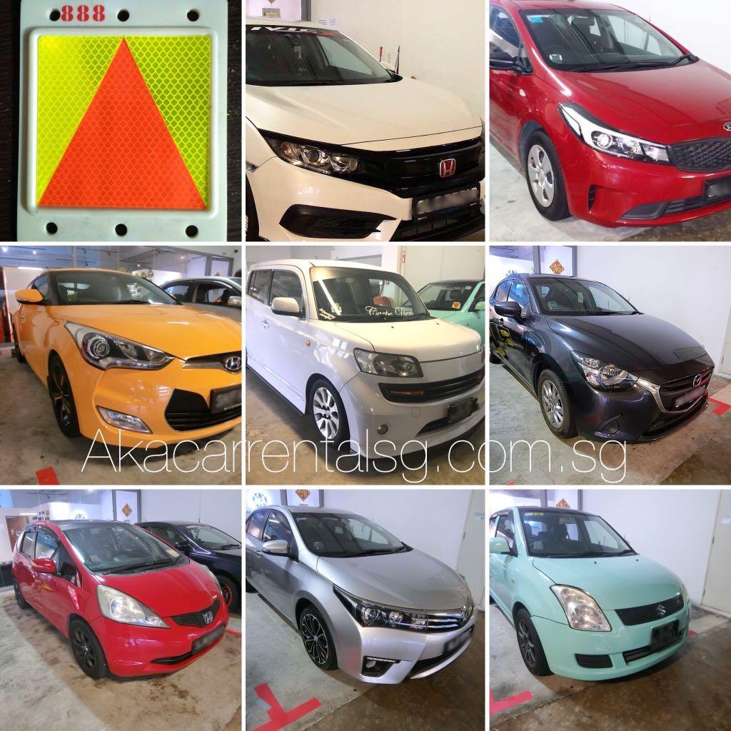 P-Plate Car Rental Sg