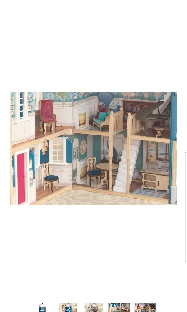 RARE KidKraft 50th Grand Anniversary Giant Jumbo Extra Large Wood Wooden Dollhouse Doll House with Furniture