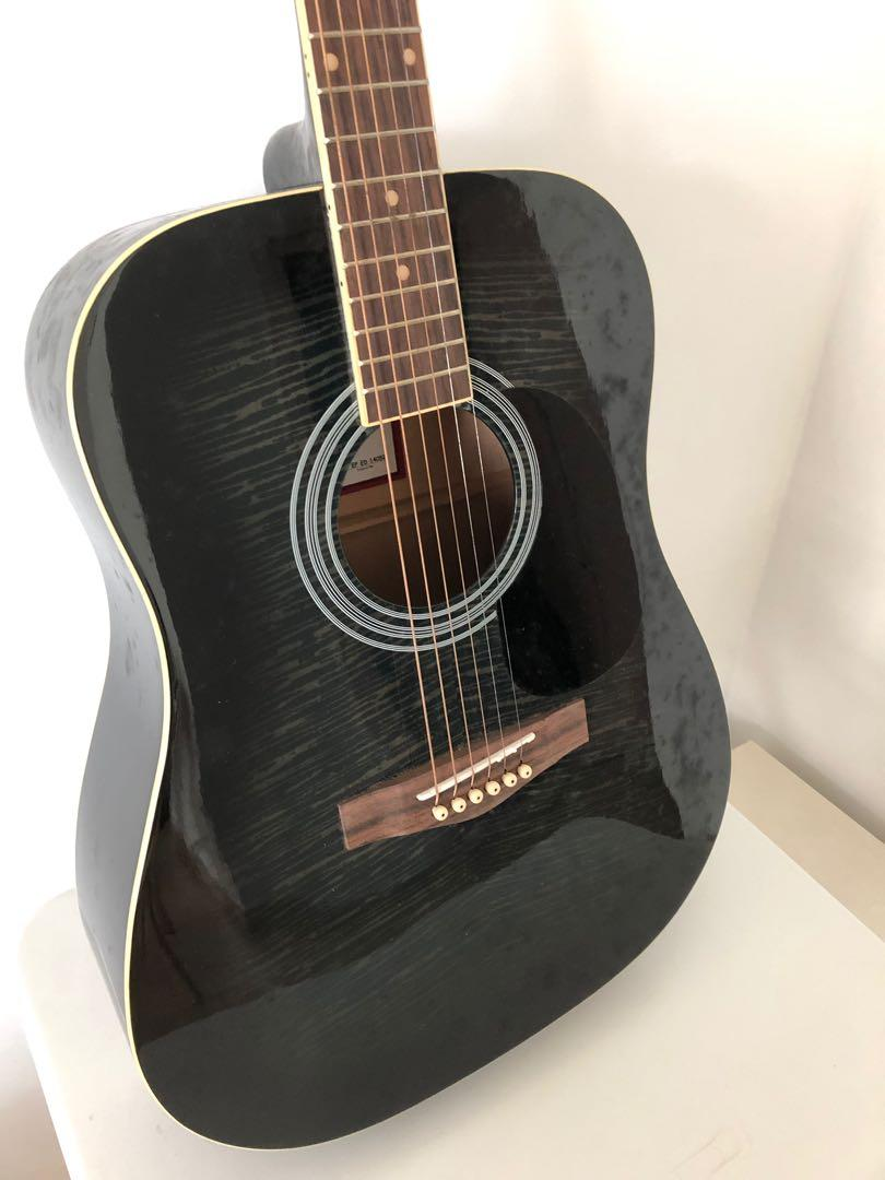 Rarely used acoustic guitar