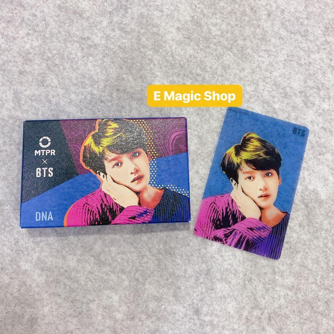 【READY STOCK】BTS X MPTR Official DNA Lens Box + Card