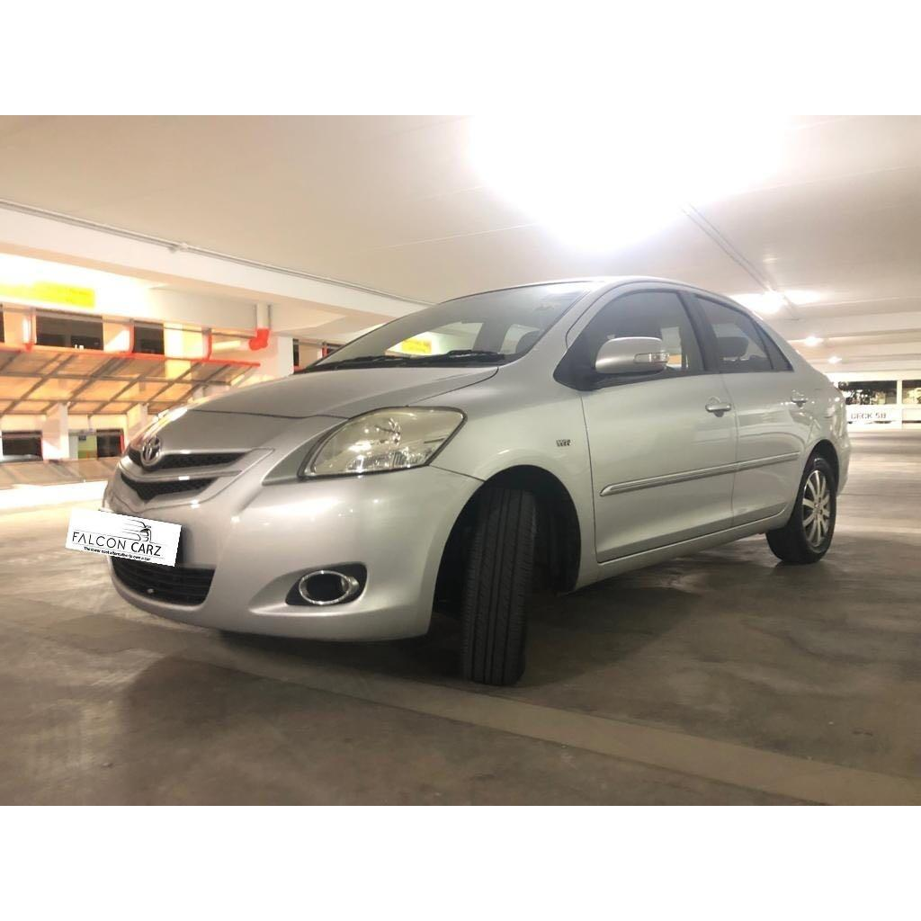 Rent / Lease Toyota Vios 1.5A E Grab & Go Jek Collection at CLEMENTI EVENING