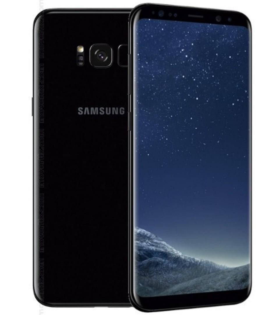 "Samsung Galaxy S8 5.8"" 64GB Unlocked Smartphone - Black"