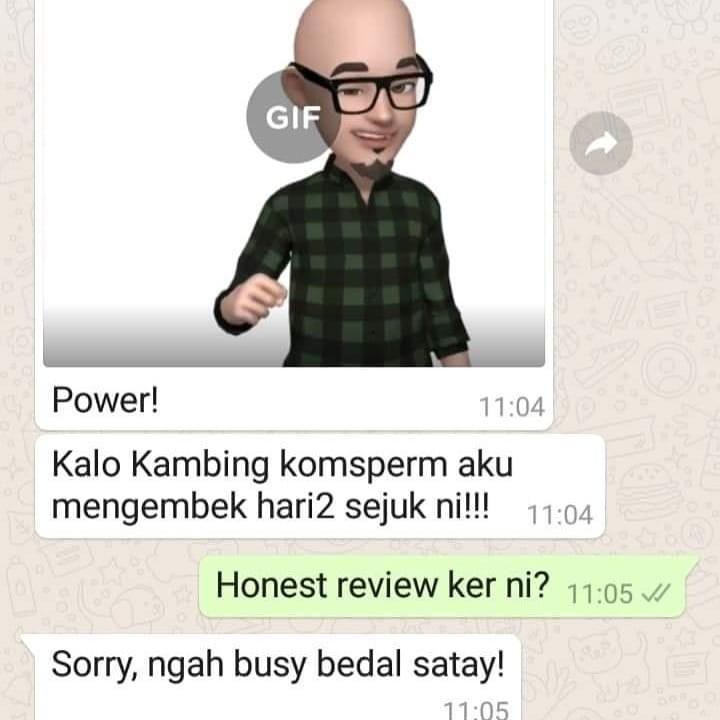 SATAY GORENG BAPAK KAU SEDAP FRM WARUNG SEMBANG