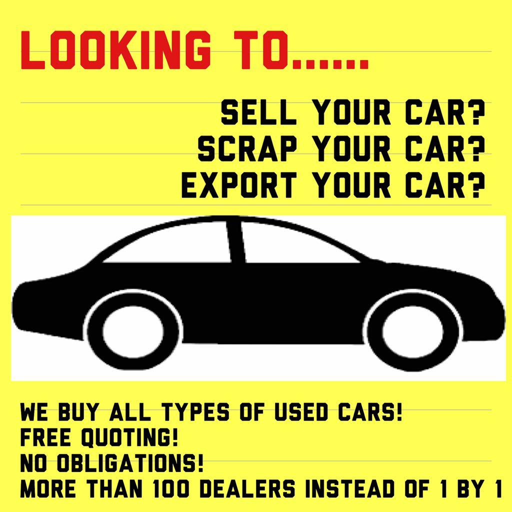 Sell or scrap your used car