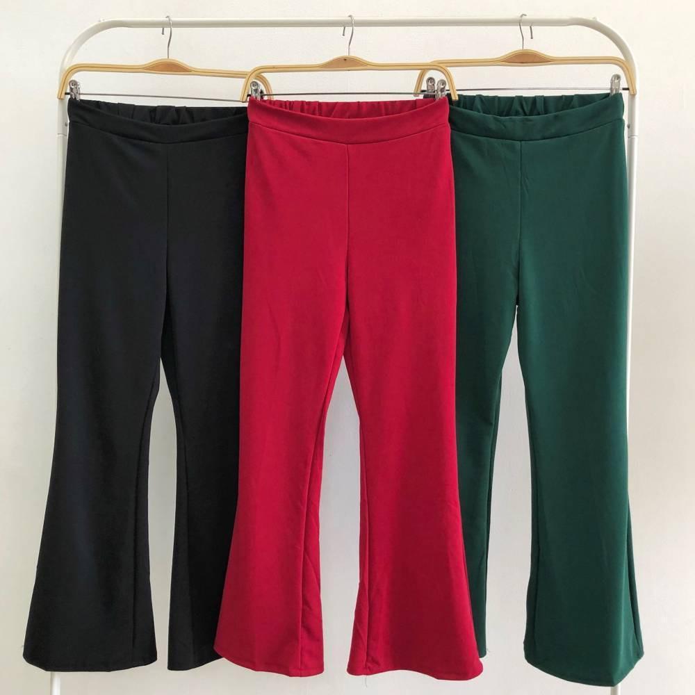 SET5591 Setelan celana dan blouse crop blouse pesta setelan blouse dan celana cutbray wanita crop blouse party blouse dan celana panjang cutbray