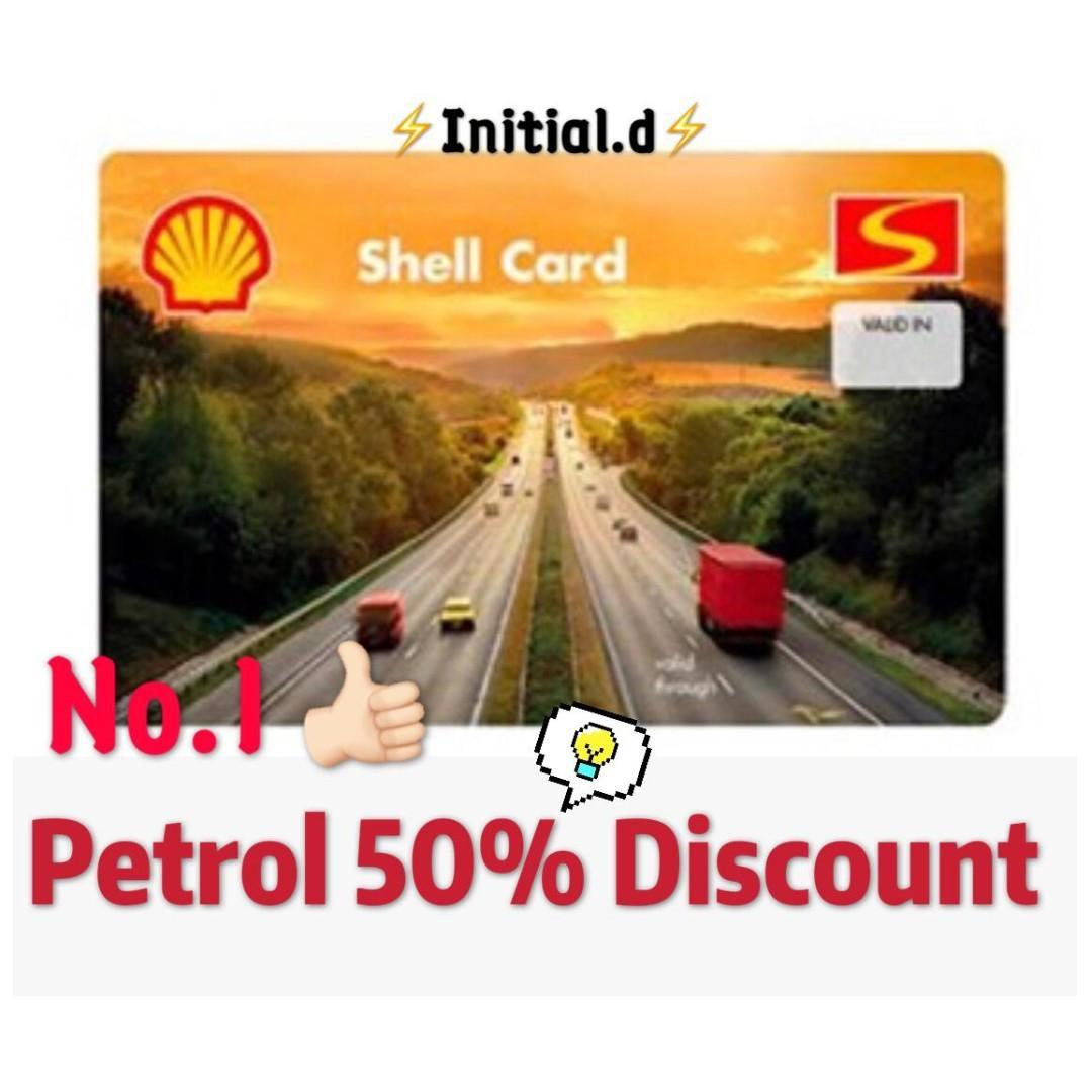 Singapore No.1 --50%  Shell Card Promo