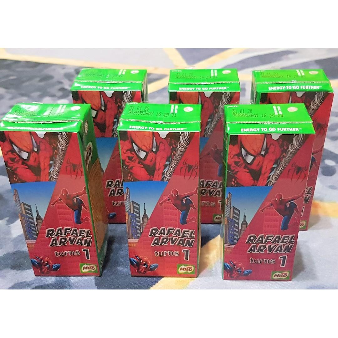 Spiderman Customized Milo Packet Drink