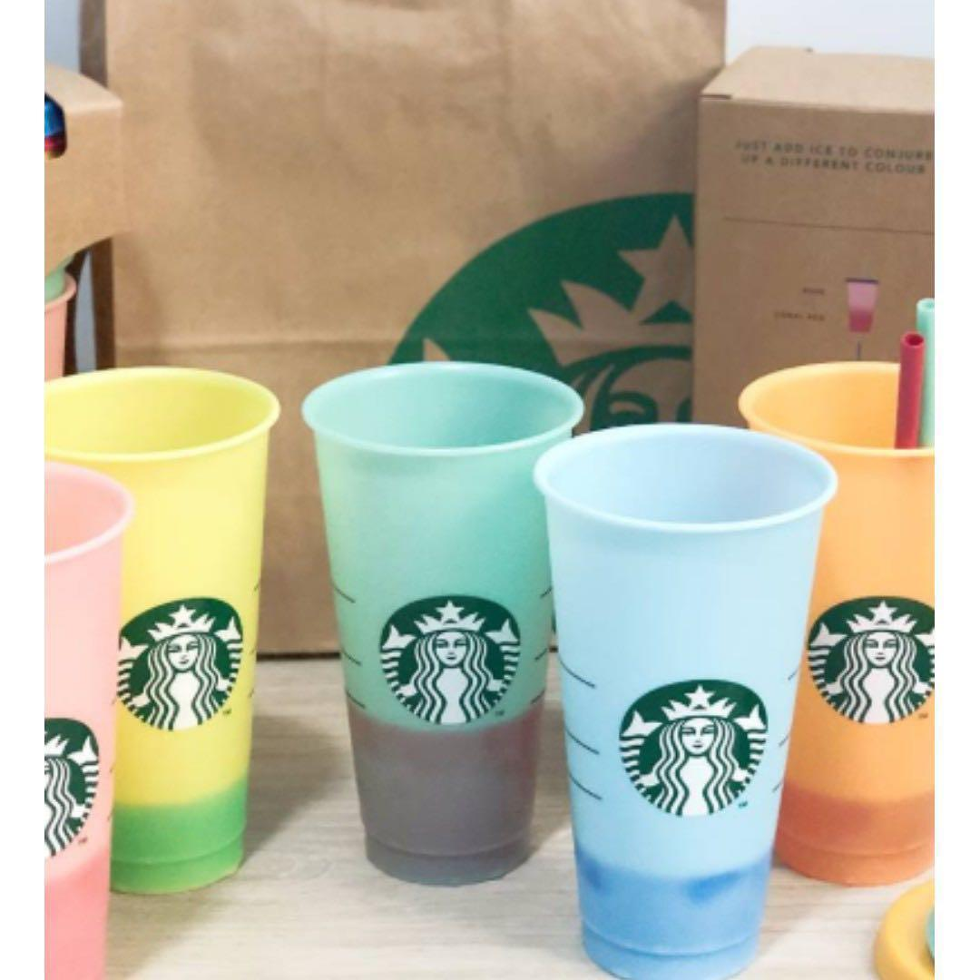 Starbucks Colour-Changing Reusable Cups
