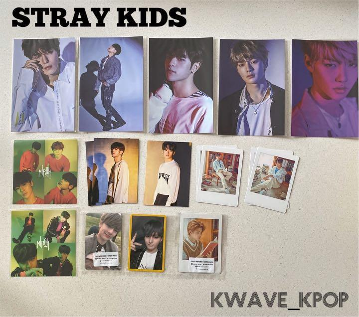 STRAY KIDS OFFICIAL PHOTO CARD /POLAROID PHOTO CARD /STICKER