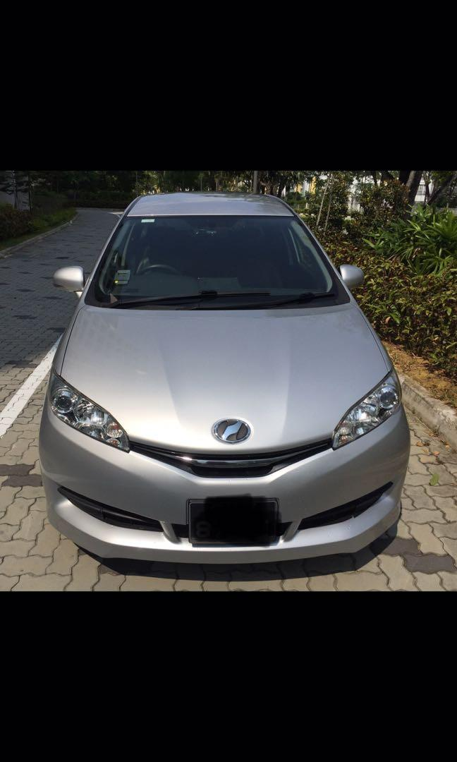 2016 Model Toyota Wish for rent
