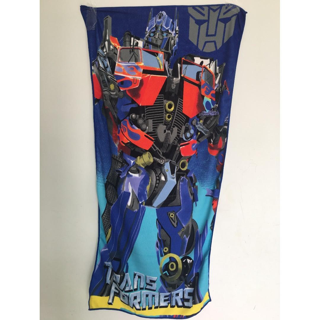 Transformer & Avenger Themed Microfiber Towel